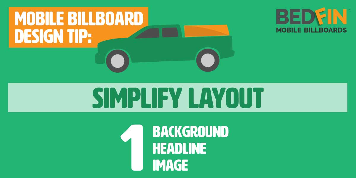design tip about advertisement layout